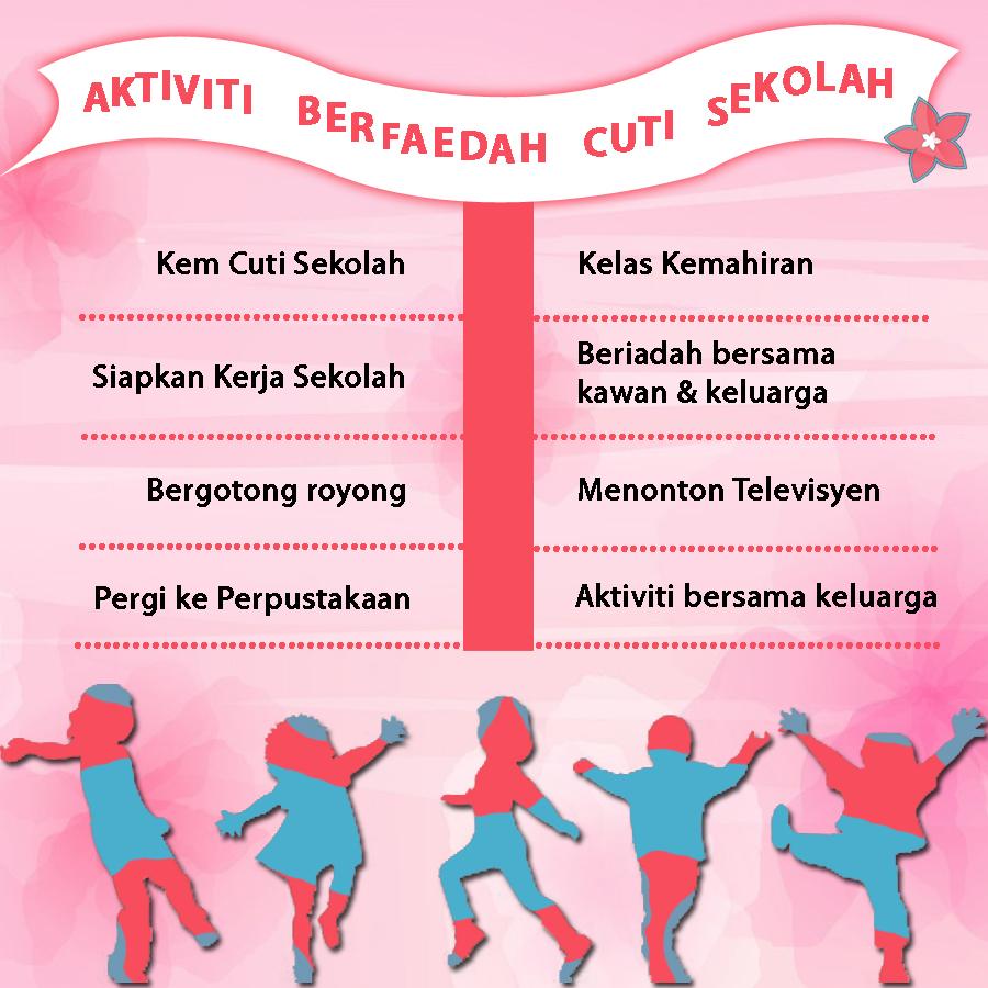 Aktiviti Berfaedah musim cuti sekolah