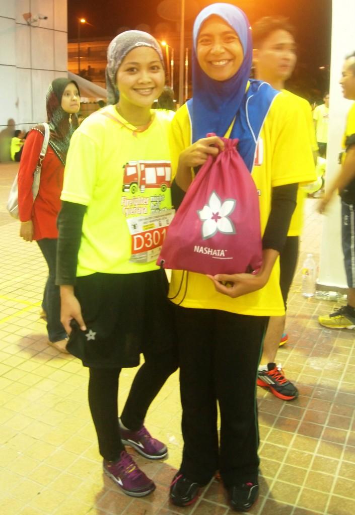 Arliza & Azlina the fast hijabista runners