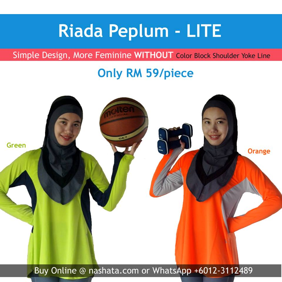 Peplum Sports Top LIte