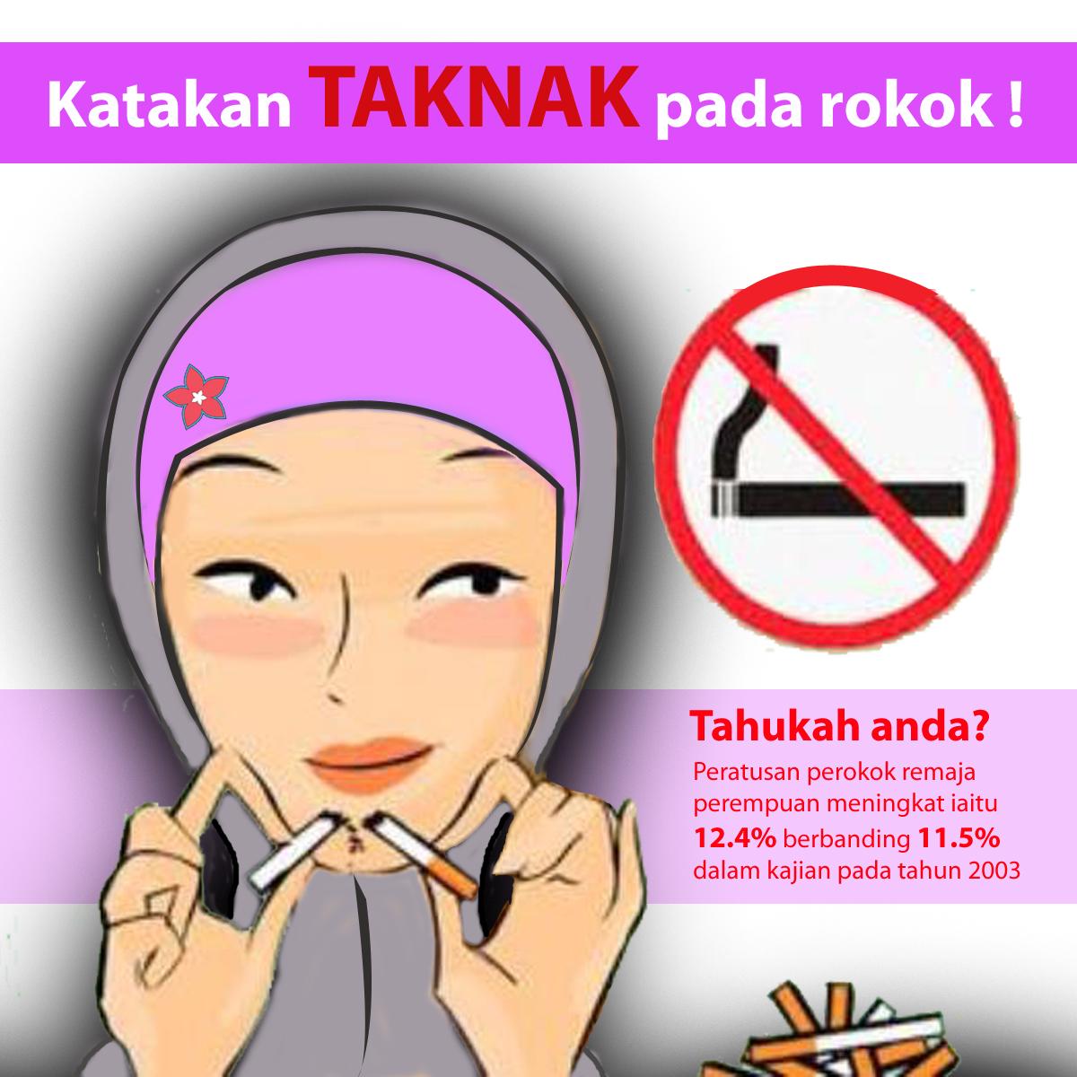 Taknak pada rokok