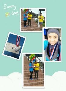 Dr. Rosmurni @ Subang Jaya 7km fun run