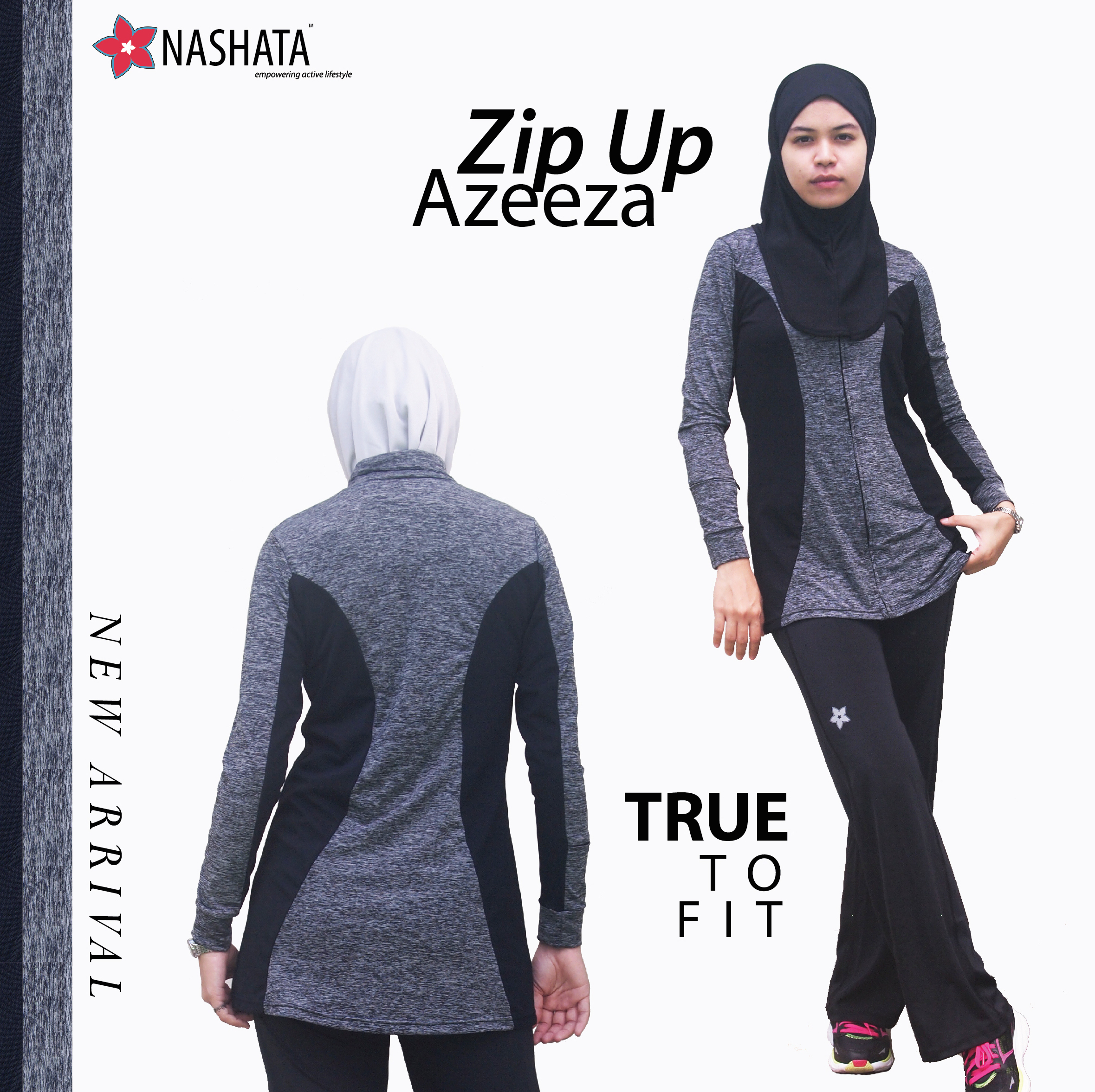 Zip Up Azeeza