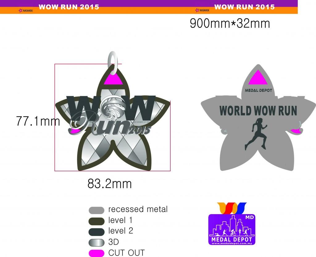 WOW RUN Medal