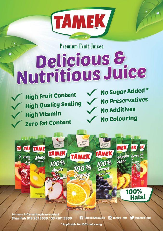 tamek nutrition