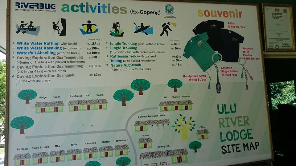 Riverbug Gopeng Activities