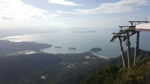 View from Middle Station : Langkawi Cable Car