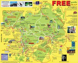 Free Langkawi Map
