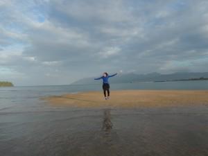 On Sand Bar Pulau Rebak Kecil