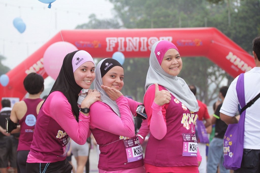 Running Hijabists