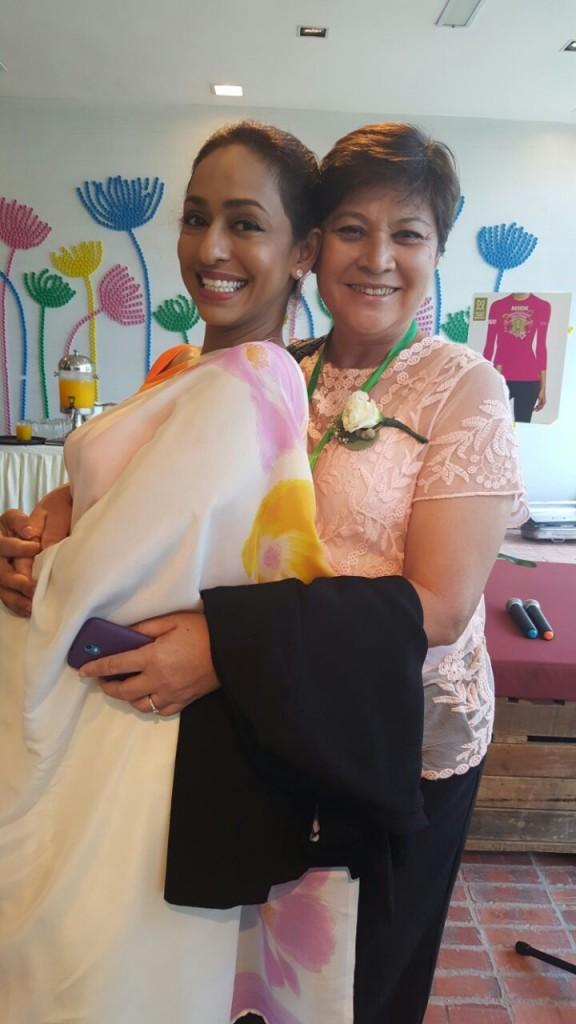 Dato Beatrice Nirmala & Datuk Marina Chin