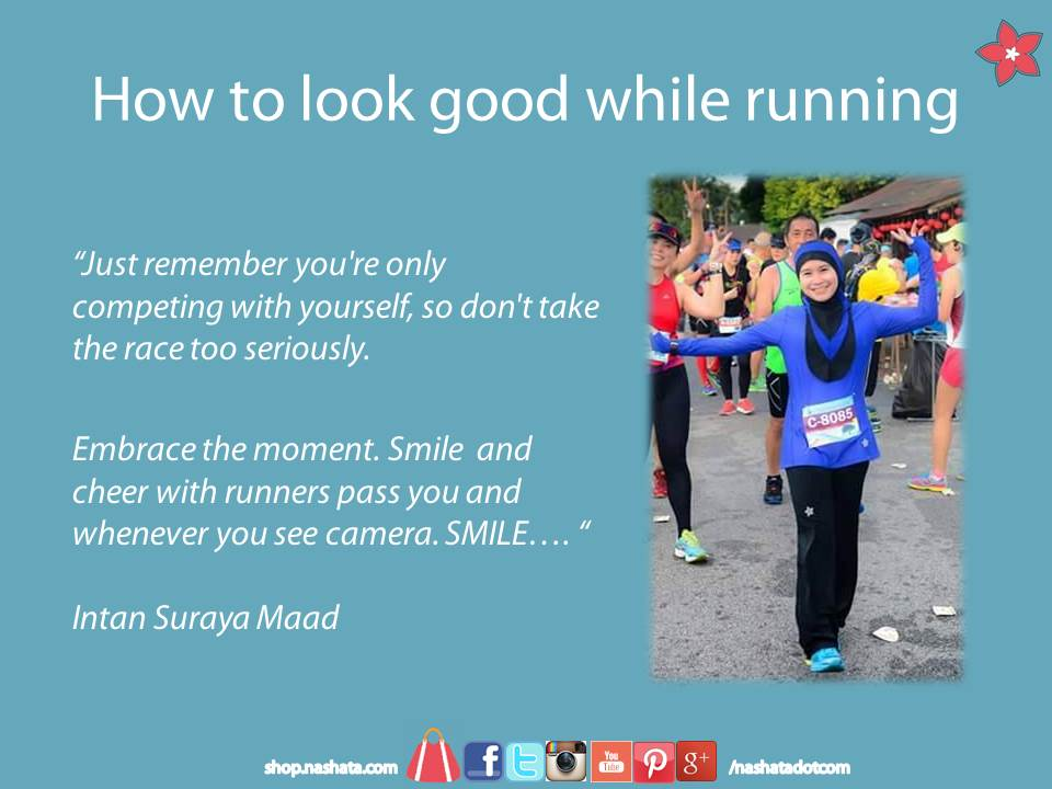 Tips to Look Good while running