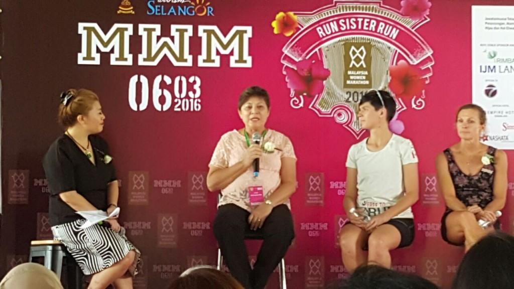Freda Lui, Datuk Marina Chin, Stephanie Case & Sue Obrien