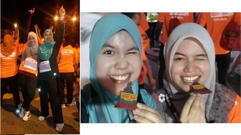 Sarah & Aqilla's 1st 12km Run