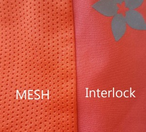 Mesh and Interlock Fabric