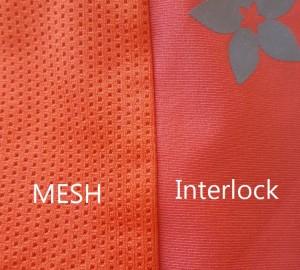 Mesh and Interlock Fabric