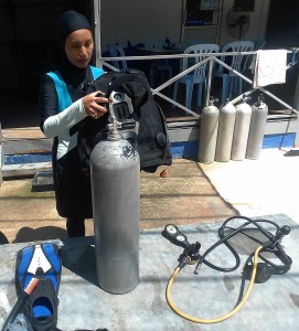 Put Together Diving Equipment