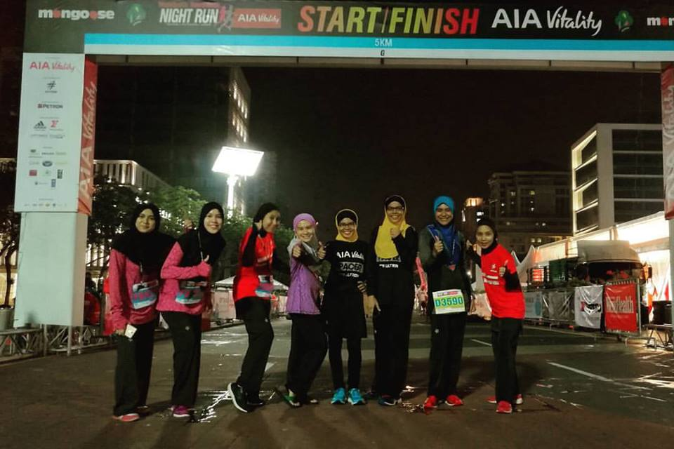 Alhamdulillah : Nashata Runners Finished Happy & Strong