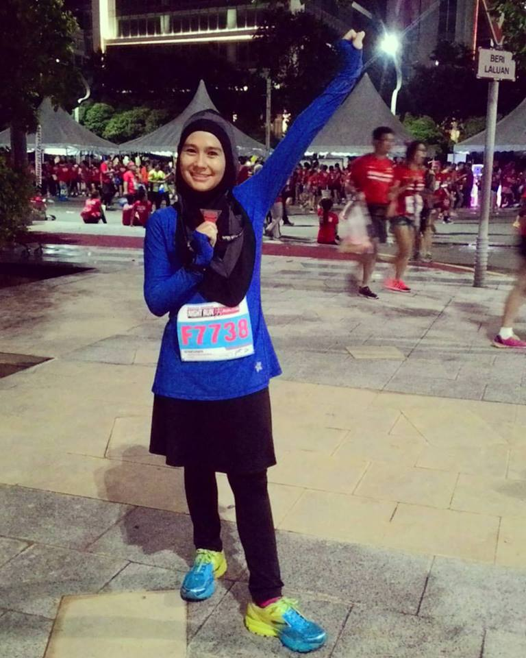 Intan Suraya, the modest veteran Runner