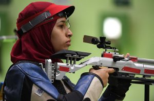 Hadir Mekhimar the young Olympian shooter