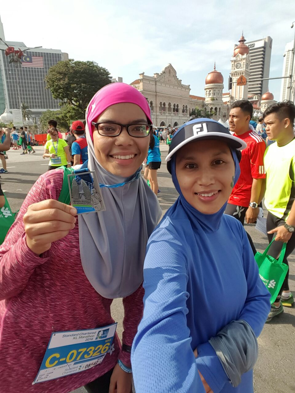 Congrats Kak Eliza for doing PB in HM today! Keep it up!