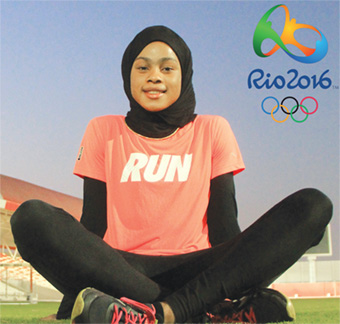 Salwa clocked 50.88s at Rio 2016 400 meters