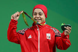 Sara Ahmed won bronze medal at the Rio 2016