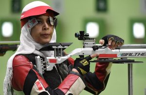 Shimaa Hashad is ranked 27 at Rio 2016