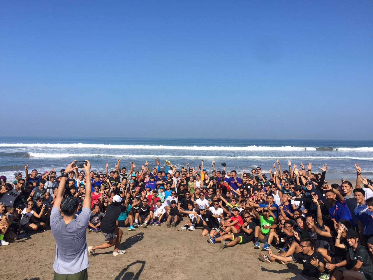 Different countries, crews, and culture, united for the love of running