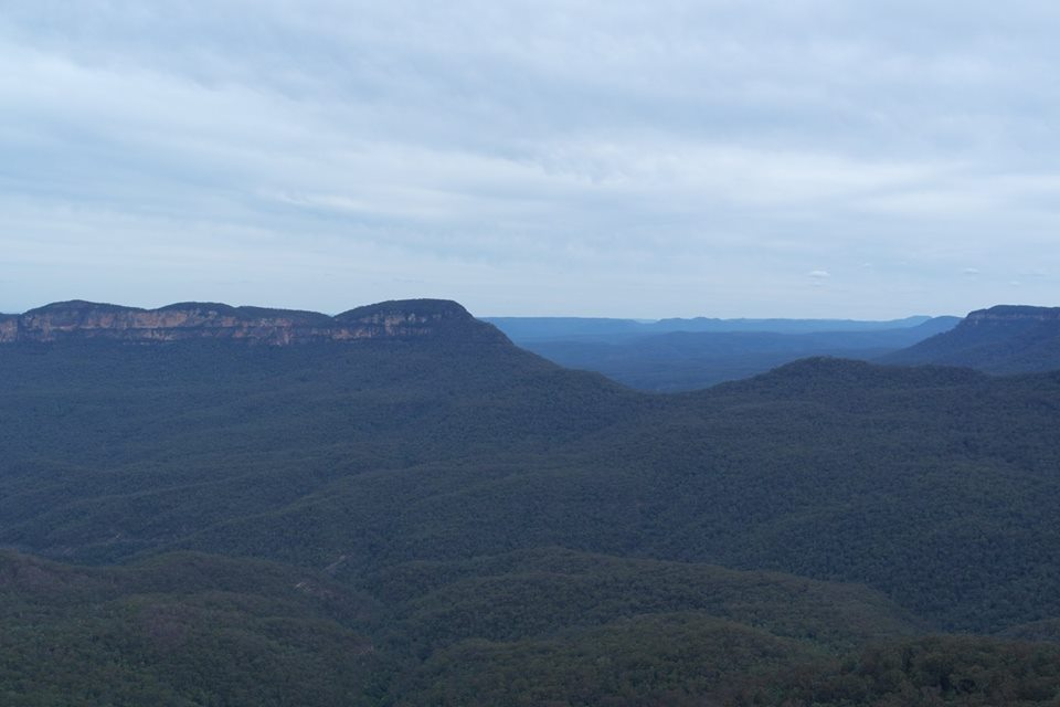 """Blue Haze"" that gives Blue Mountains its name"