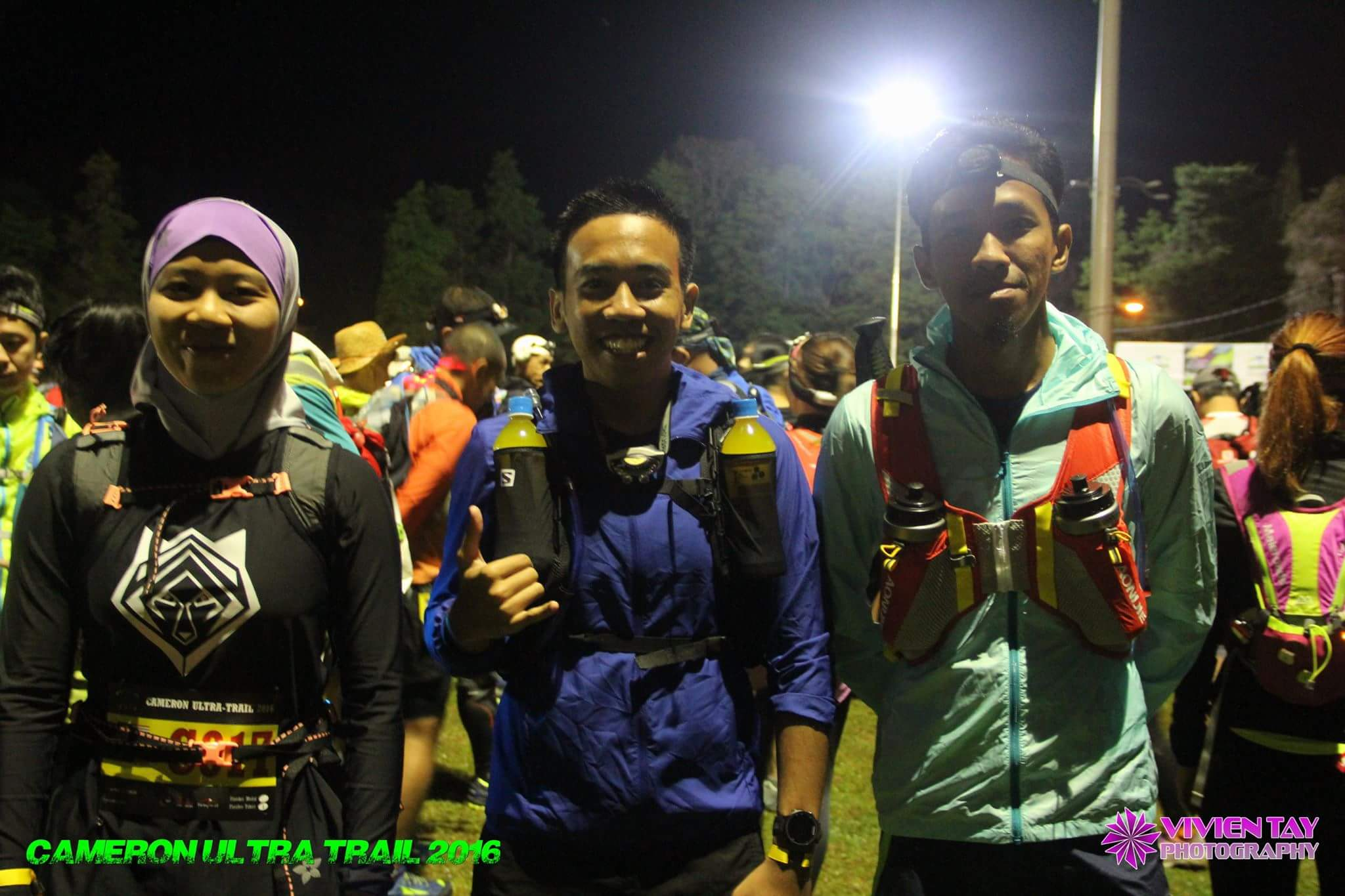With other 50km runners