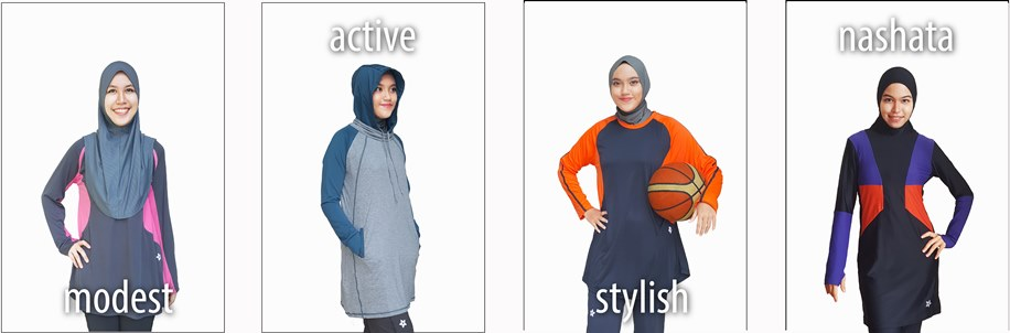 Modest . Active . Stylish . Nashata