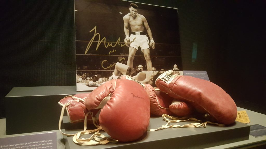 Boxing gloves muhammad ali