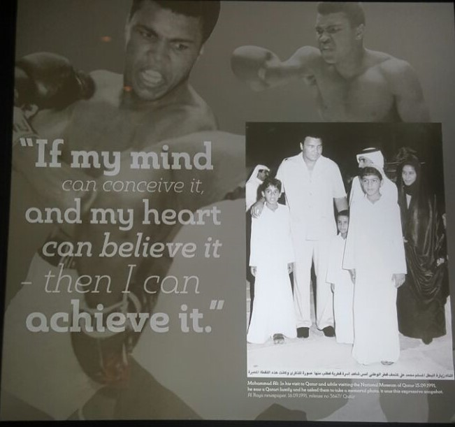 If my mind can conceive it and my my heart can believe it - then I can achieve it