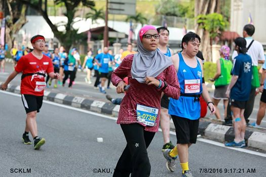 Full Marathon at Standard Chartered Kuala Lumpur Marathon 2017