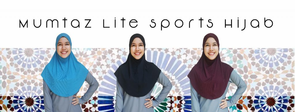 Wide Shoulder, Long and Wide Chest Covering Sports Hijab