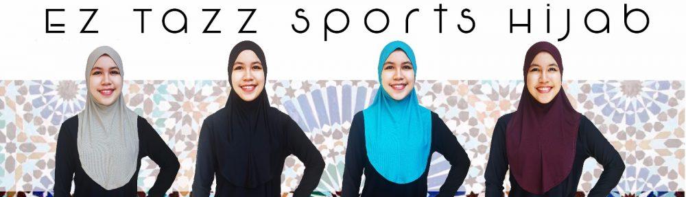 EZ Tazz Sports Hijab
