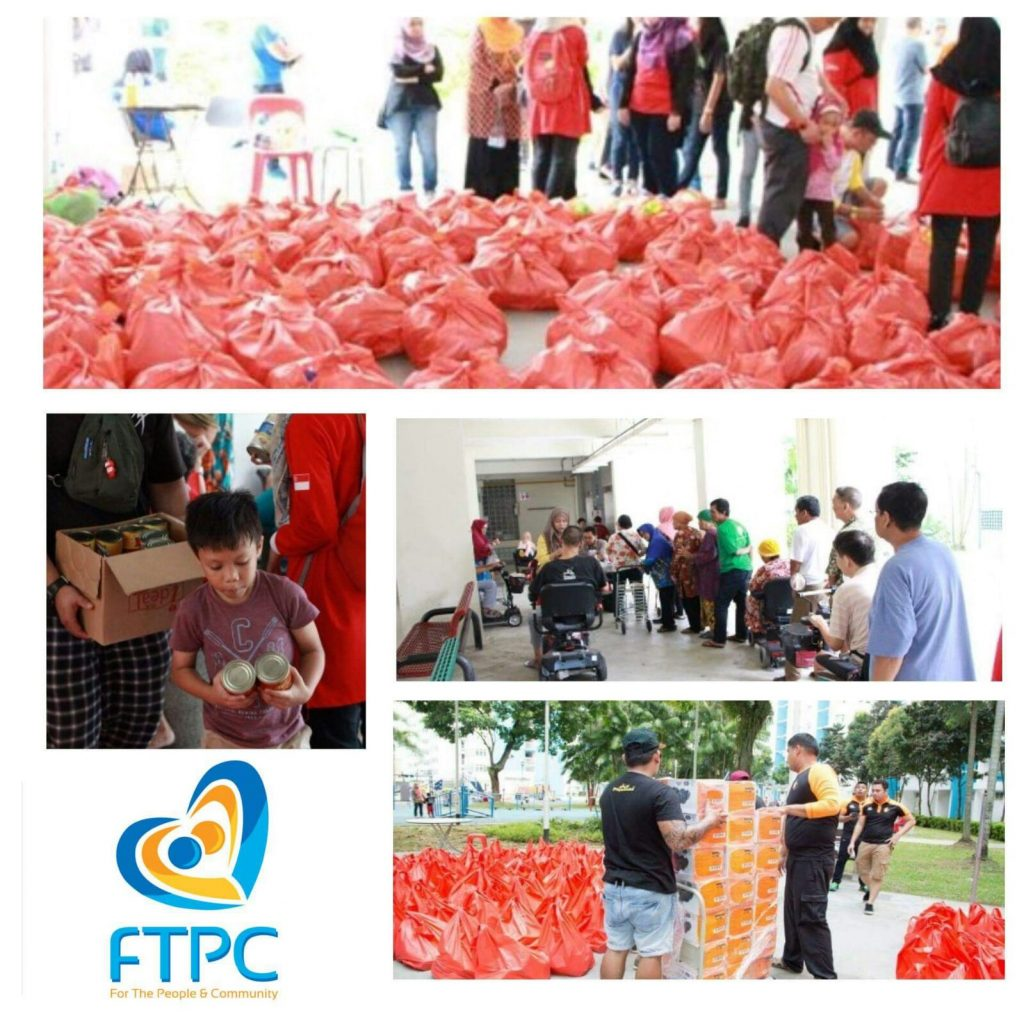 Funds raised are for Ramadhan Grocery Pack Distribution