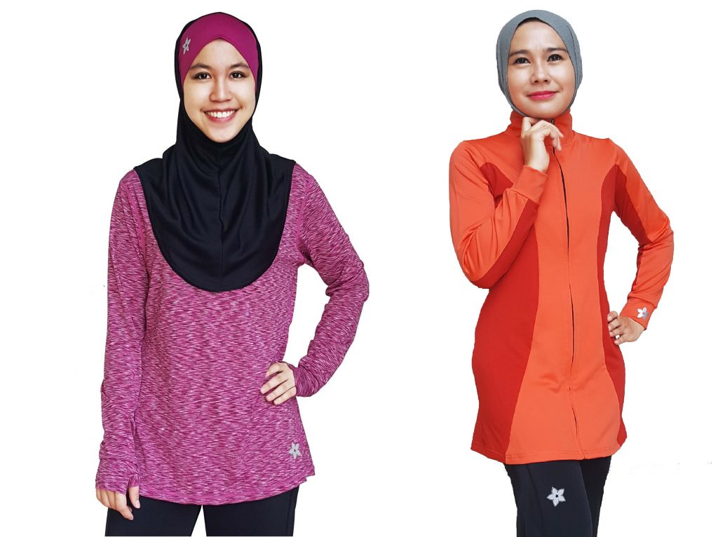Nashata Heather ULtra & Zip Up Azeeza