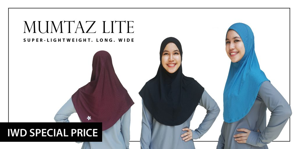 Nashata Mumtaz Sports Hijab