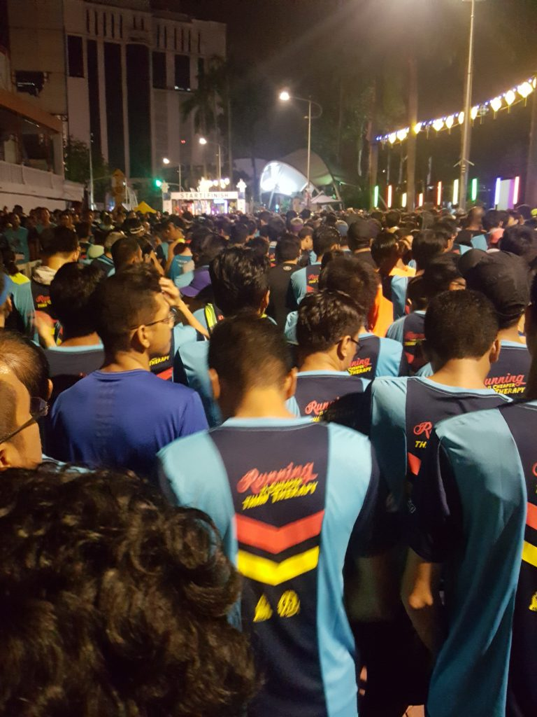 More than 4000 half marathon runners
