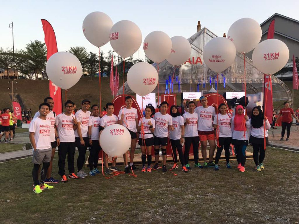 MHWH Night Run by AIA Vitality Pacers