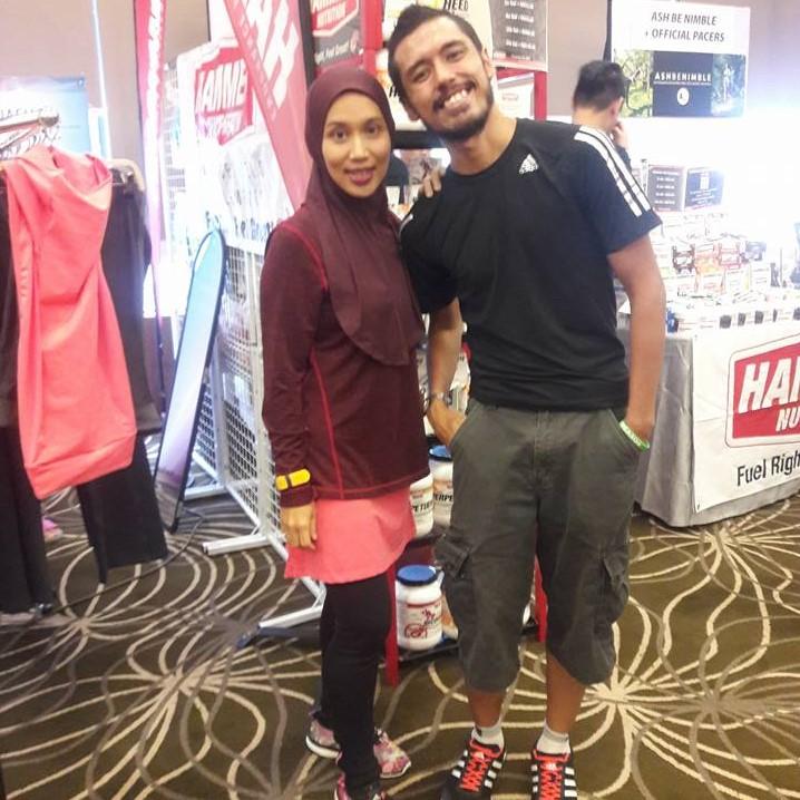 Redz Ismail is as seasoned runner & a friend to Nashata Runners.