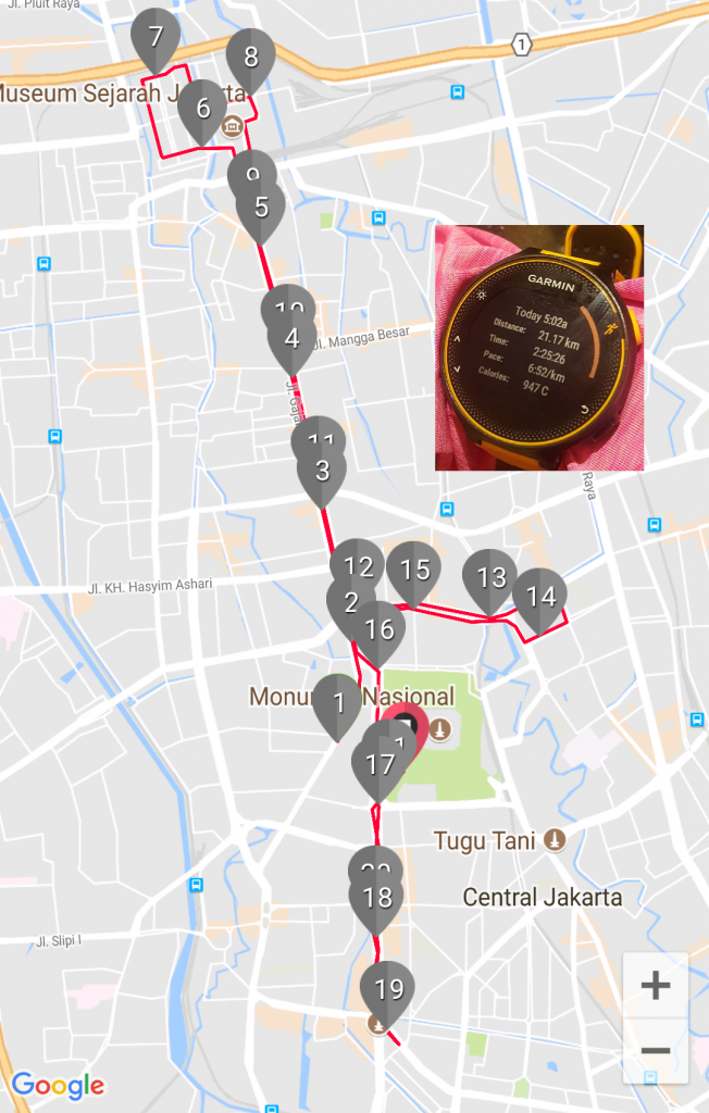 Street Festival from 17-20th km around Bundaran H1