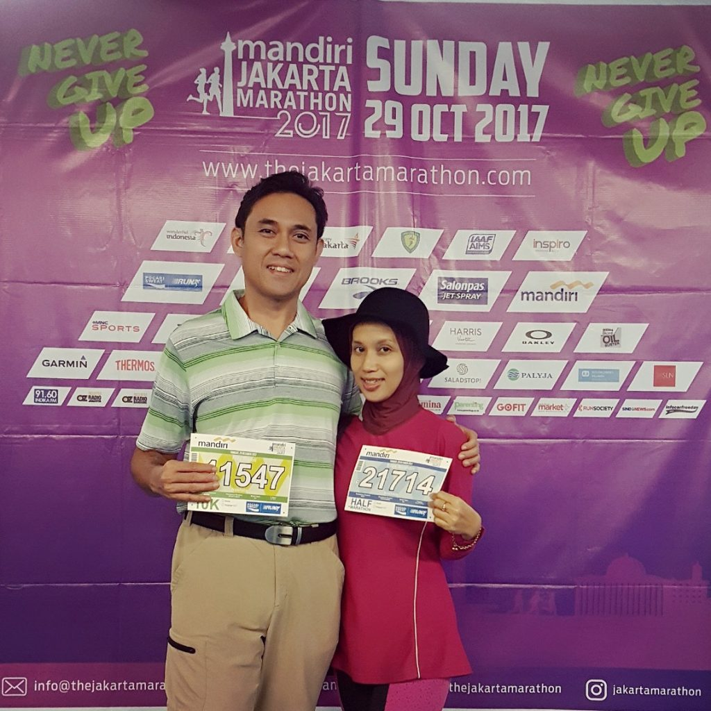 Race kit Collection Jakarta Marathon 2017