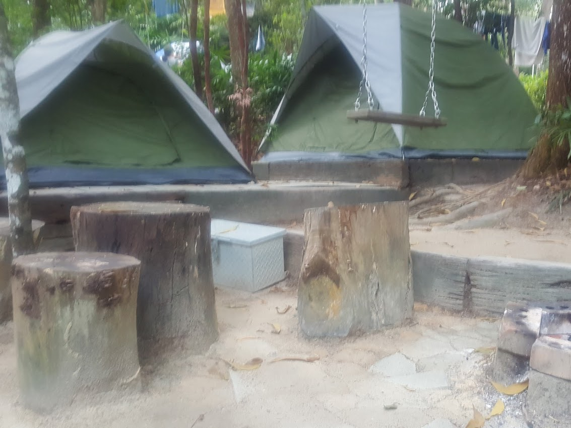2 Tents at Each Campsite