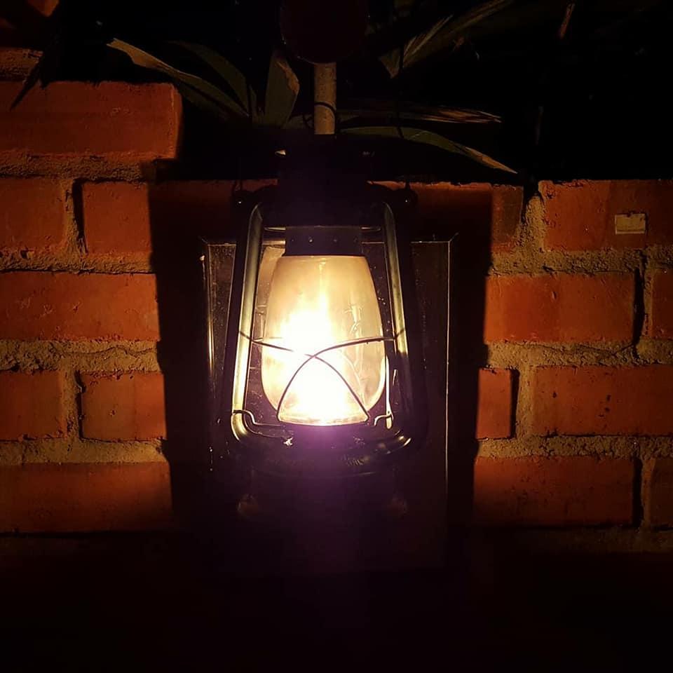 Campfire Lantern provided