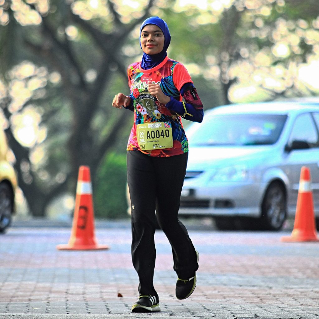 Supposed to be Nahsuhah's 13th Full Marathon, but unable to complete.