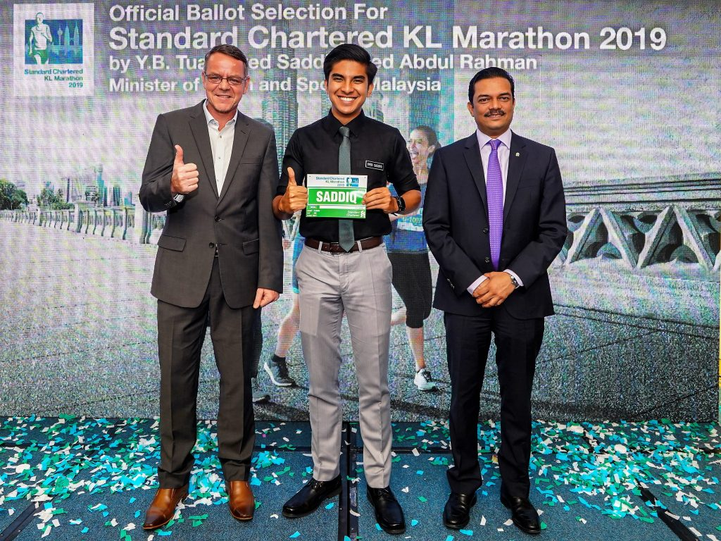 Ballot at Standard Charted KL Marathon